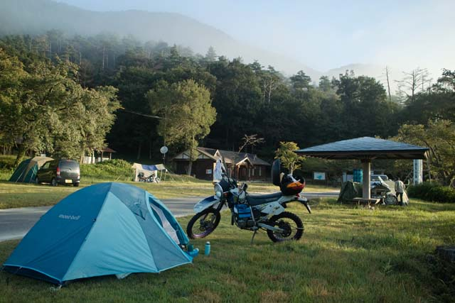 鳥取県 鵜の池キャンプ場 の写真g69978